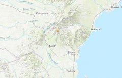 北京时间10月29日9时4分菲律宾发生6.8级地震