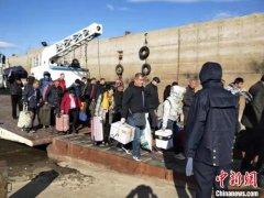 中俄百年口岸2019夏航期国际运输结束 水路安全运输旅客12456人次