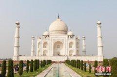 印度泰姬陵将更换约400块地砖 耗资220万卢比