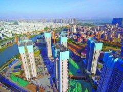 厦门市已开工最大公租房项目官浔公寓全面封顶 预计明年年底全面竣工交付