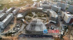漳州职业教育园区预计年底单体验收 已进入内部装修阶段