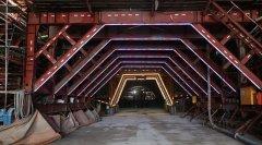 成宜高速全线4座隧道已贯通2座 计划本月底将再贯通1座