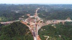 仁沐新高速沐川段项目施工火热推进 全长约55公里