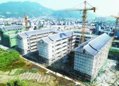 宁德蕉城区民族实验小学新校区主体工程建设已全部完成 将12月底完工验收