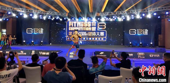 专业男子健体A组冠军获得者。 杨伏山 摄