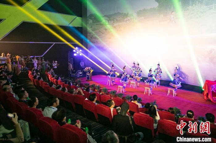 第28届中国金鸡百花电影节系列活动——民族影展21日开幕。 施辰静 摄