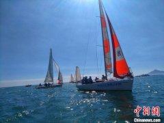 东山岛国际企业家帆船赛在福建漳州市东山县举办 超350名海内外健儿扬帆