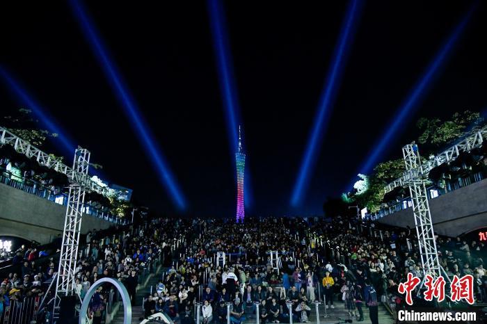 广州户外艺术节活动现场。主办方