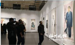 黄迪杞翰墨抒怀作品展在福清市美术馆开幕 展览将持续到2月16日