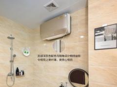A.O.史密斯薄型电热水器纤薄小巧节省空间 引领浴室装修新潮流