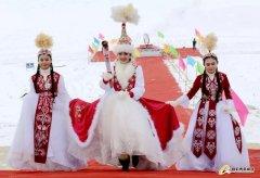 福海县第十四届冬捕节在乌伦古湖景区开幕 现场6.8万余名游客一同踏雪寻鱼