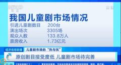 小橙堡CEO胡梁子受访央视,解读儿童剧市场现状