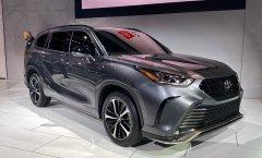 丰田全新汉兰达XSE正式亮相 匹配8速自动变速箱