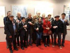 中国艺术家王清州作品二月亮相巴黎大皇宫比较沙龙艺术展