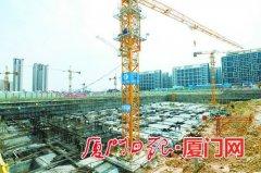 厦门马銮湾新城佳美安置房所有工点100%复工 共有2716套安置房