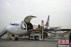 西安—榆林全货运航线正式开通 首班搭载货物主要为齿轮等