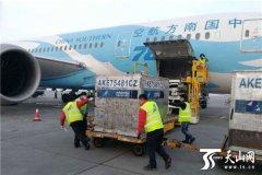 乌鲁木齐国际机场货运量持续增长 牛羊肉等成为空运热销品
