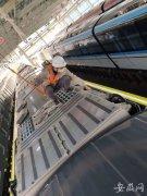 合肥轨道交通5号线第三列车顺利通过验收 具备出厂条件