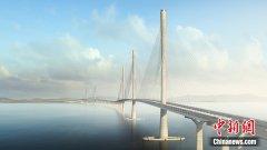 黄茅海跨海通道项目6日正式开工 路线全长约31公里